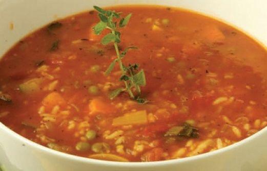 Αποτέλεσμα εικόνας για Σούπα λαχανικών με ντομάτα