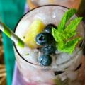Blueberry pinaple mojito