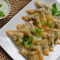 Samosas με σπανάκι και πατάτα/Spinach And[...]