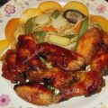 Chicken wings with apricot jam/ φτερούγες[...]
